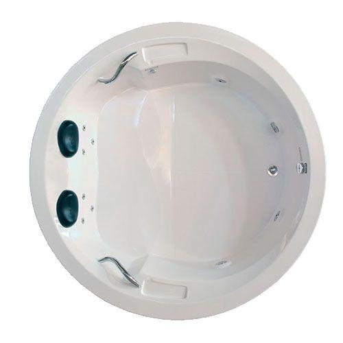 Banheira Hidro Perola I COMPLETA - Jato de Hidro, LED (1,81x0,45)