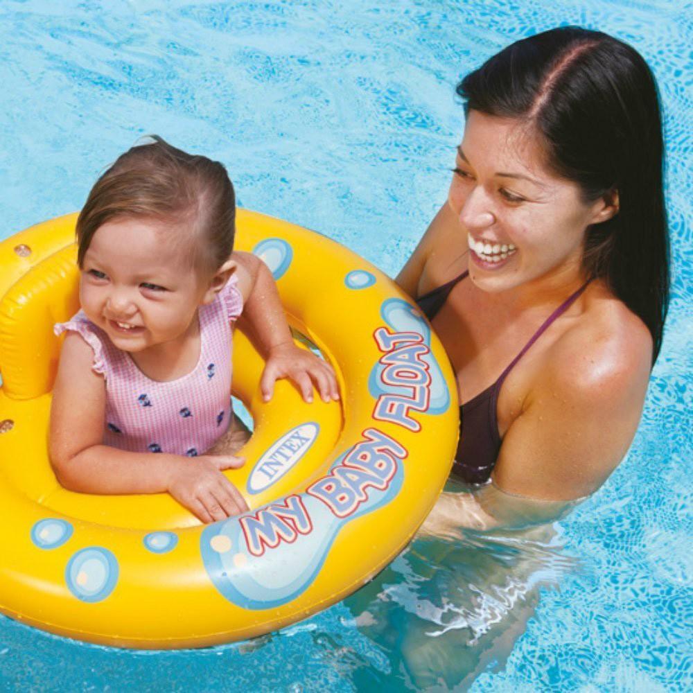 Boia Piscina Infantil Bote Conforto Inflável Baby Float 70cm