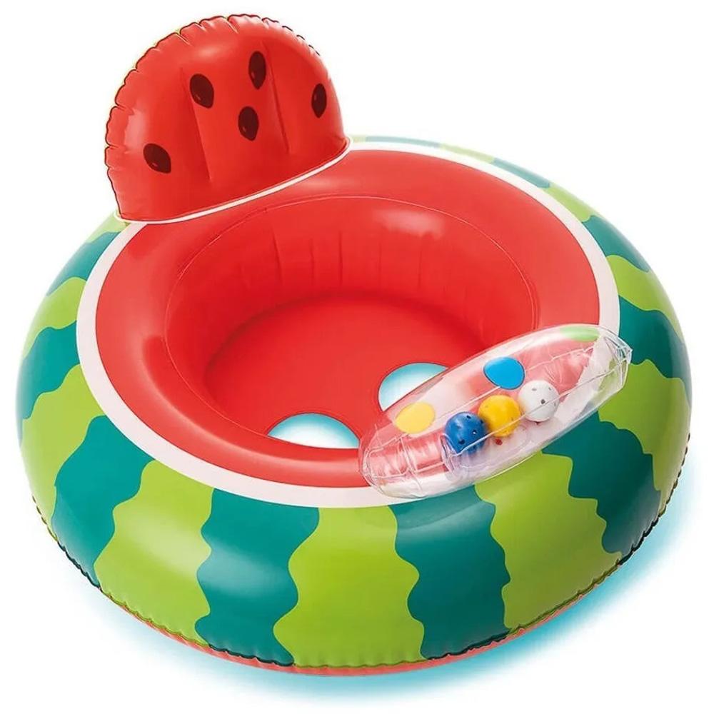 Boia Infantil Assento Melancia Criança 1 A 2 Anos Até 15kg
