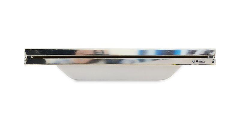 Cascata Inox Embutir Acabamento 120cm - Pooltec