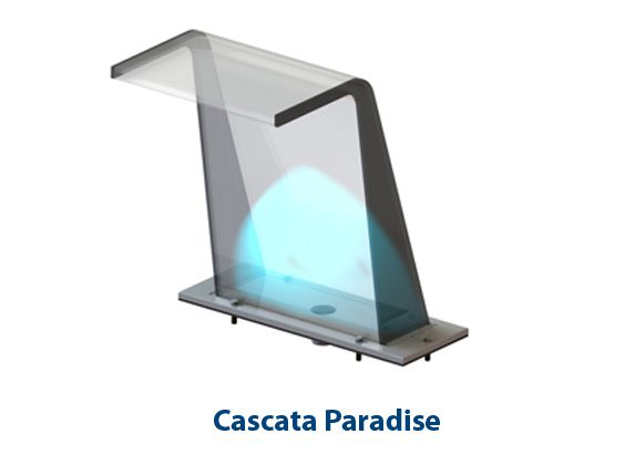 Cascata Piscina Paradise Sodramar