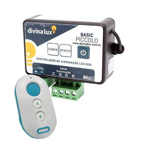 Central de Comando Divina Lux com modo audio 5A/60W