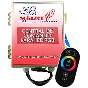 Central De Comando LED RGB Controle Touch 20A/240W