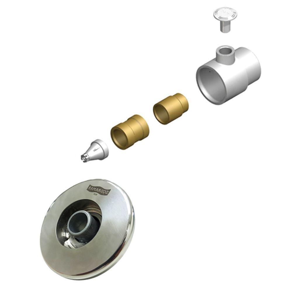 Dispostivo de hidromassagem Premium flat aço inox 316