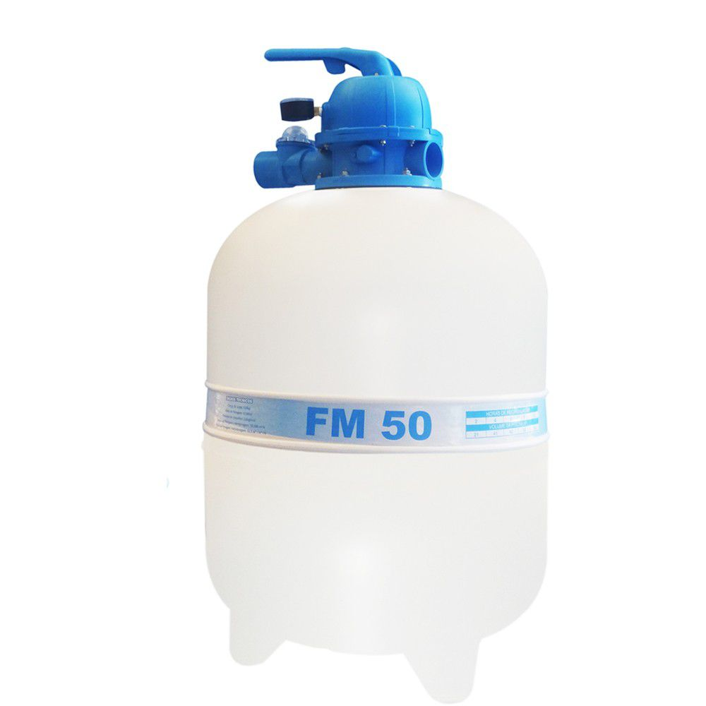 Filtro FM50 Sodramar - Para Piscinas até 78.000L