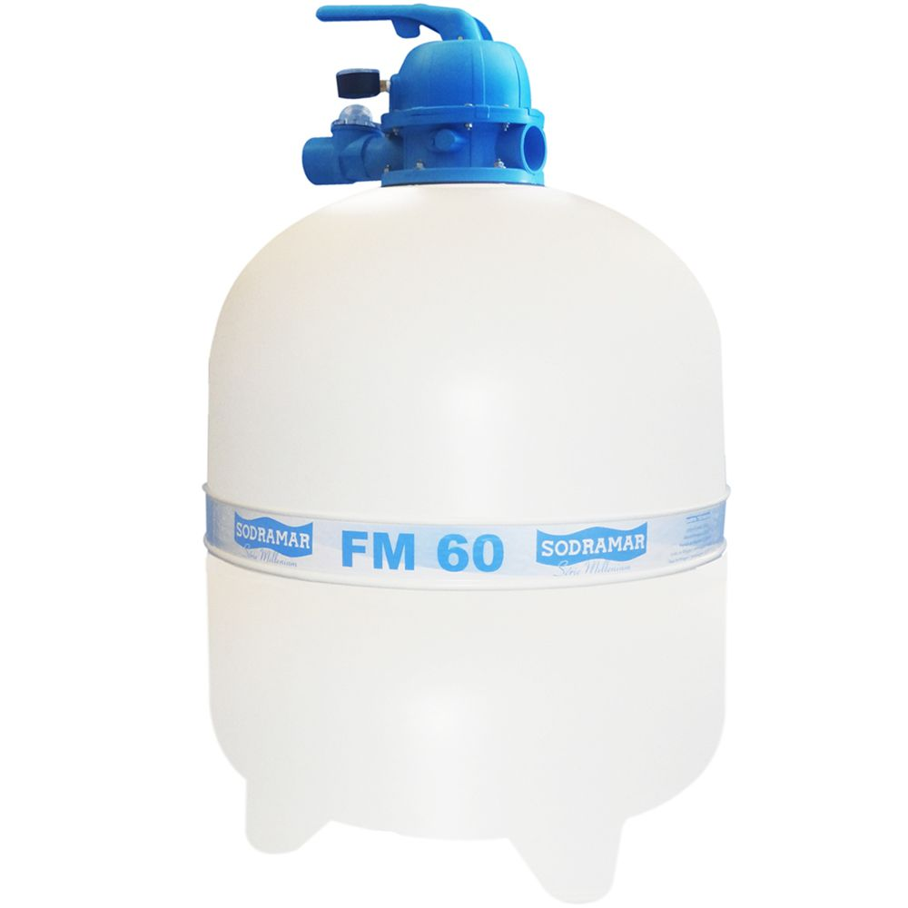Filtro FM60 Sodramar - Piscinas até 113.000 L