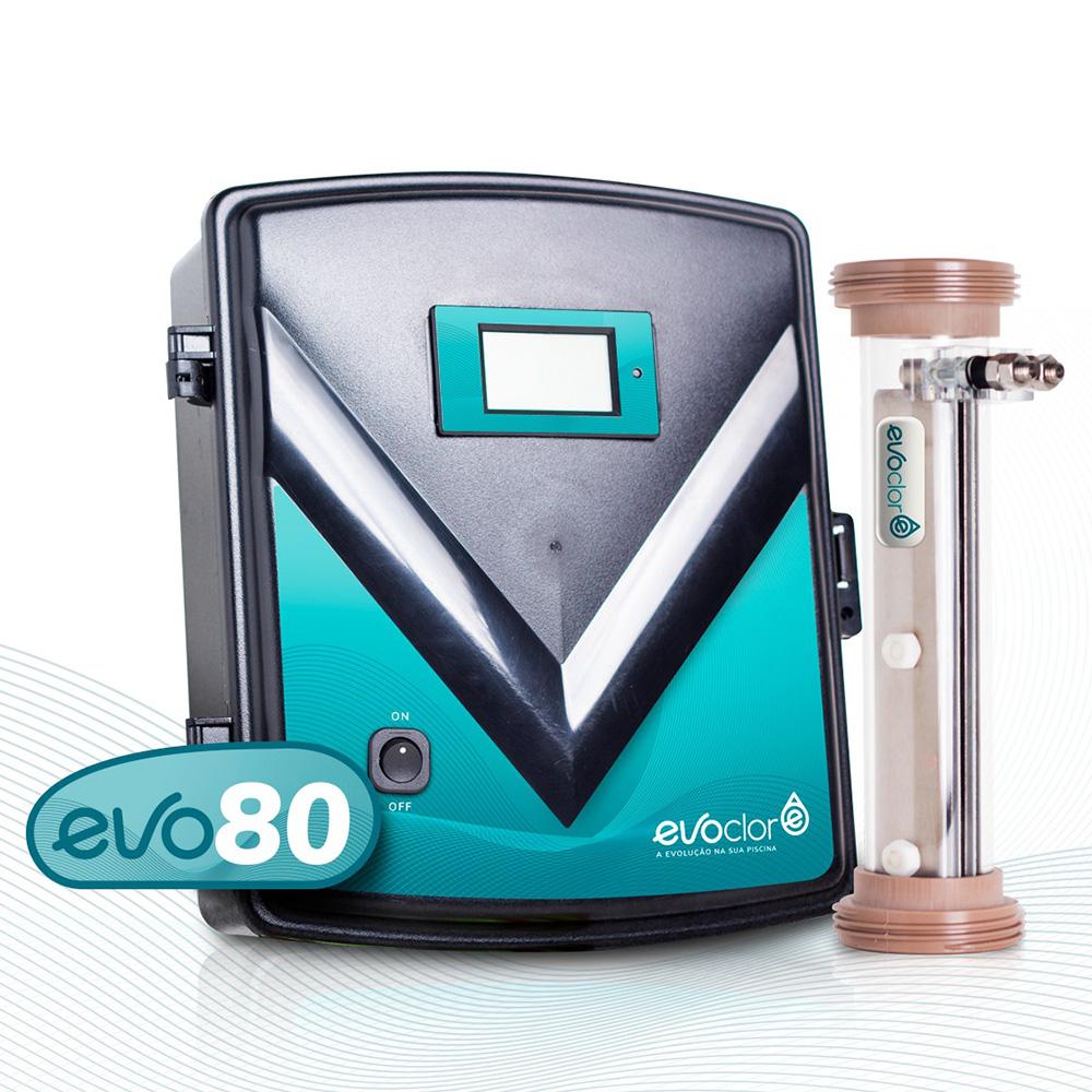 Gerador de Cloro a Base de Sal para Piscina EvoClor - Evo 80