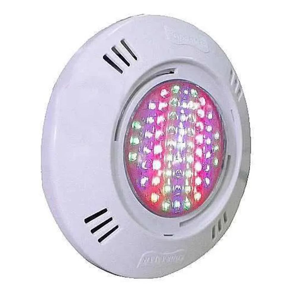 Iluminação 9 Leds para Piscina SMD 9W RGB Colorido - Sodramar