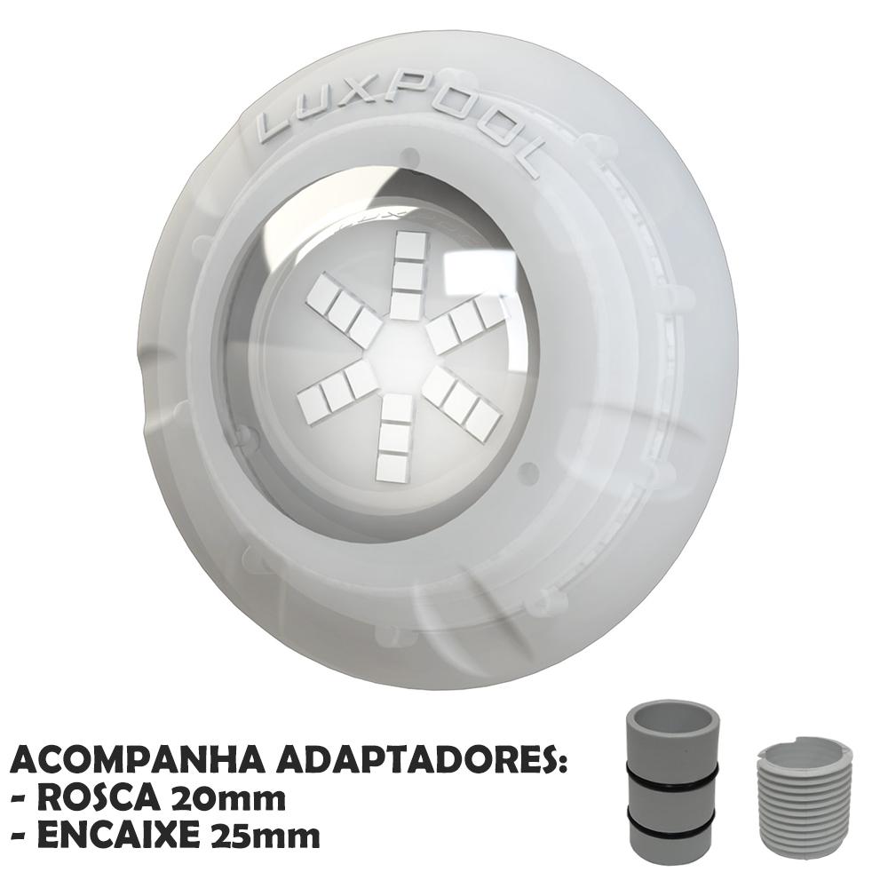 Iluminação Refletor Led Piscina Monocromático 9W - Luxpool