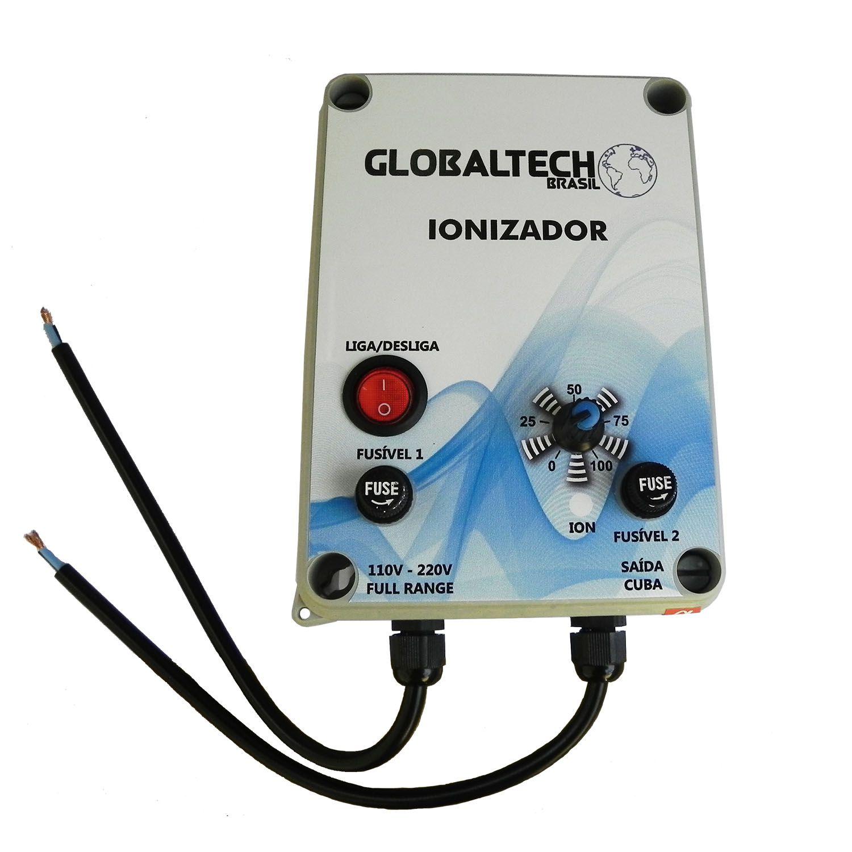 Ionizador Piscina GB até 100.000 L - Globaltech Brasil (4 eletrodos)