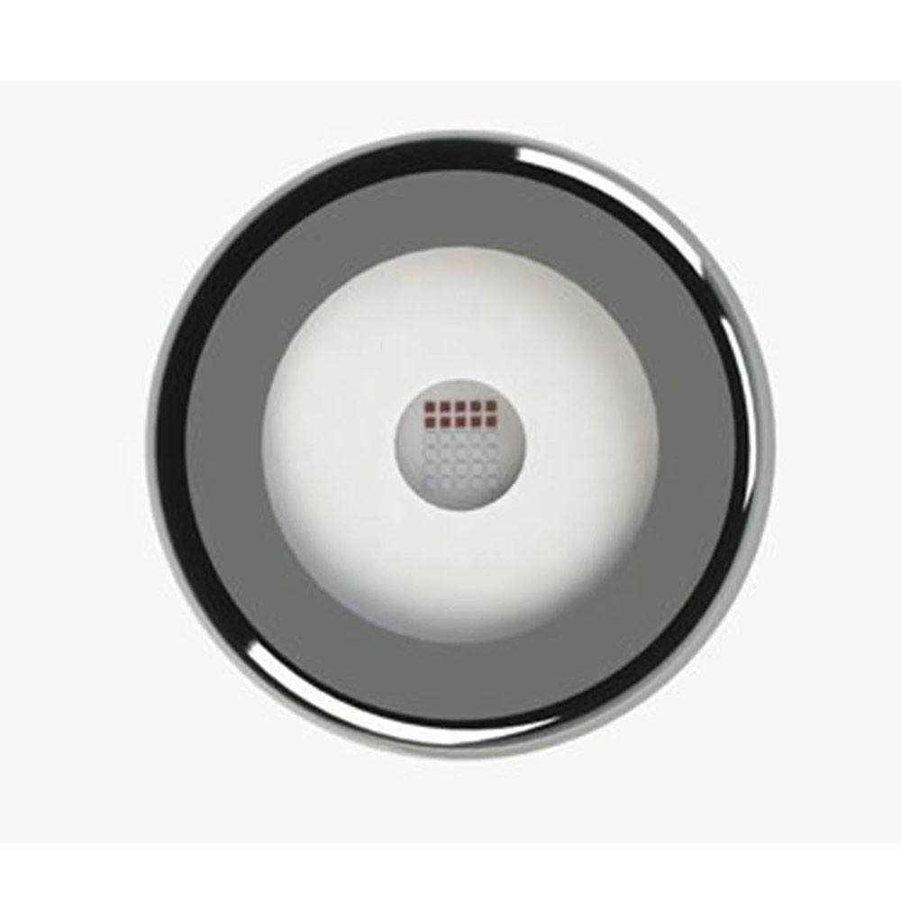 Kit 1 Led Piscina Inox RGB 9W + Central + Controle - Tholz
