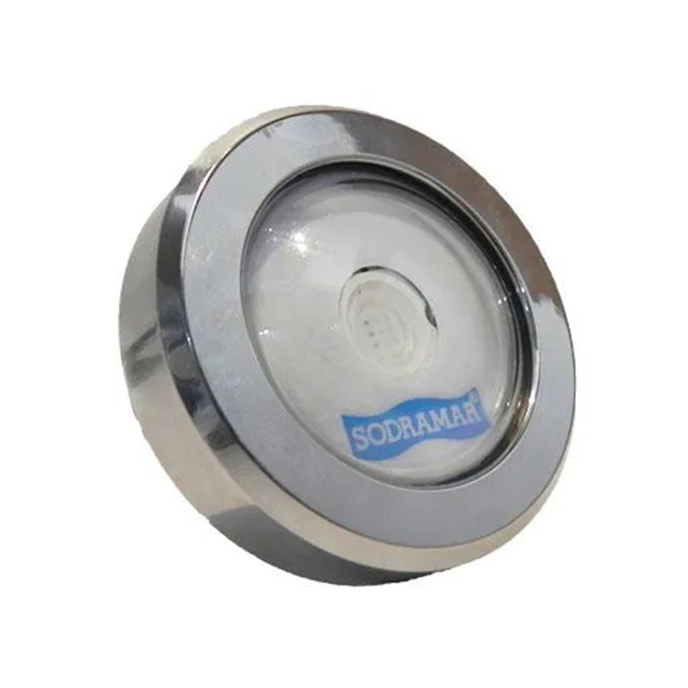 Kit 2 LED Piscina RGB COB Colorido + Central Wifi Sodramar