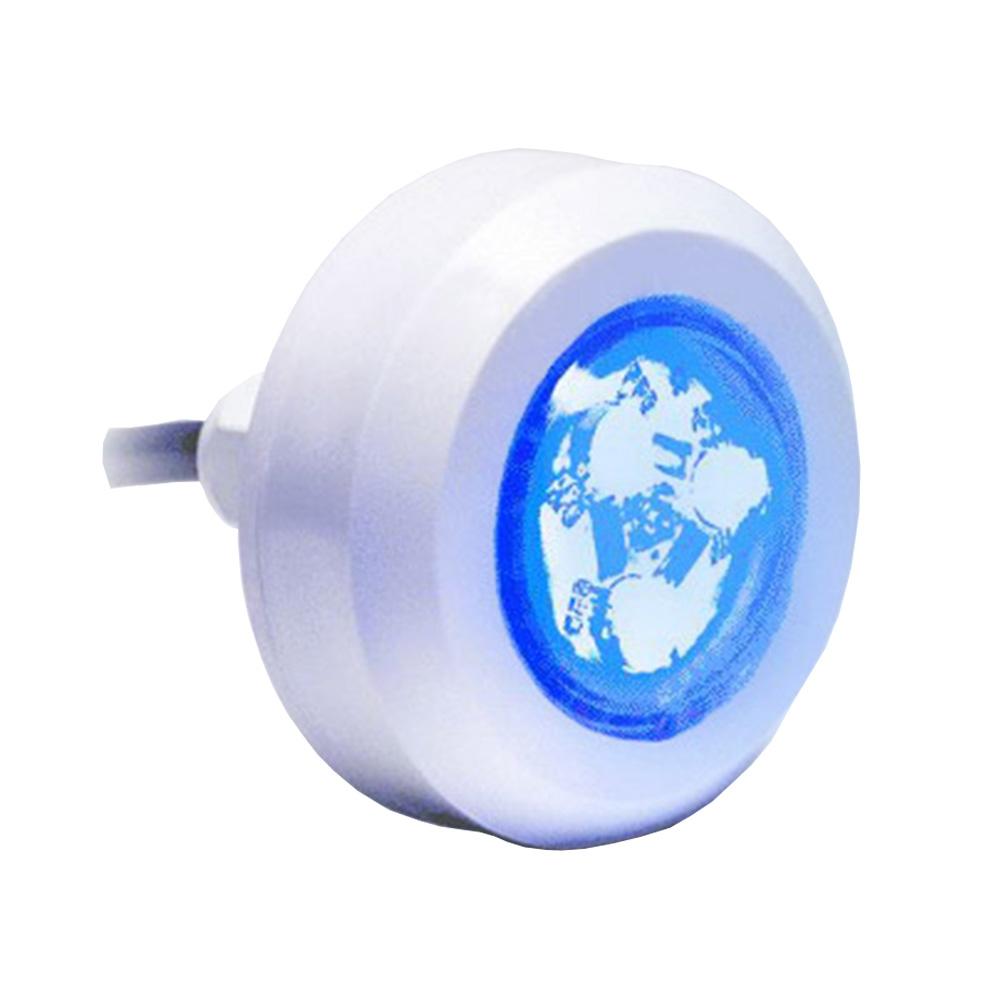 Kit 2 Refletor LED Piscina ABS Mono + Central  Compacta