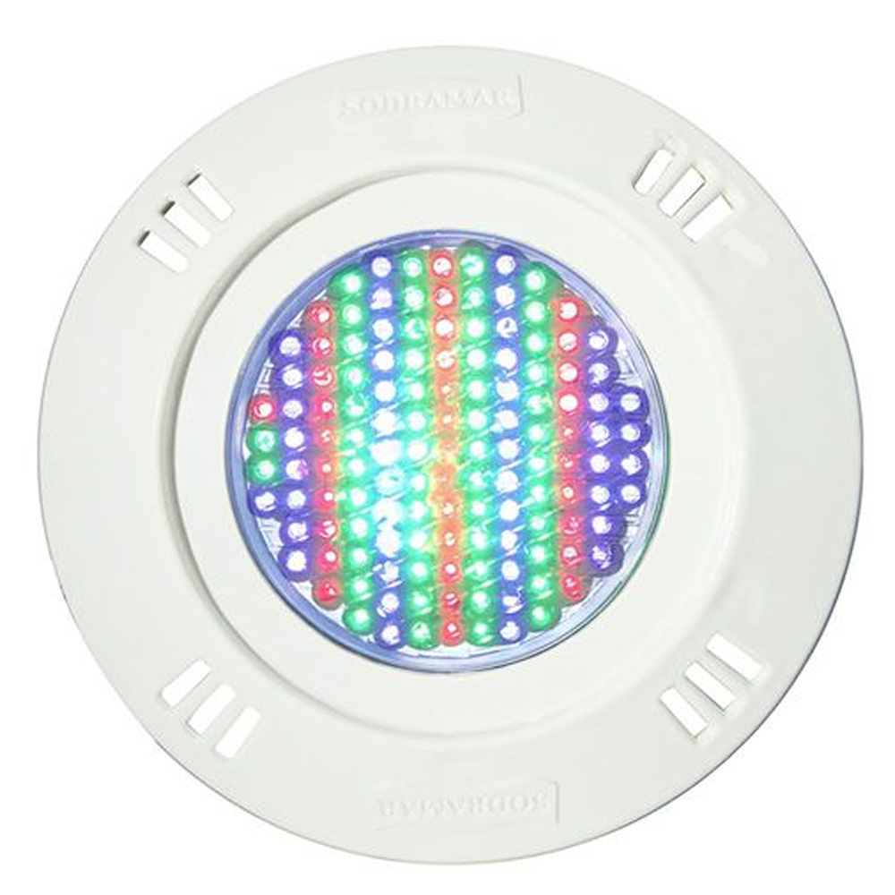 Kit 7 Led Piscina Pratic SMD 9w + Central Touch - Sodramar