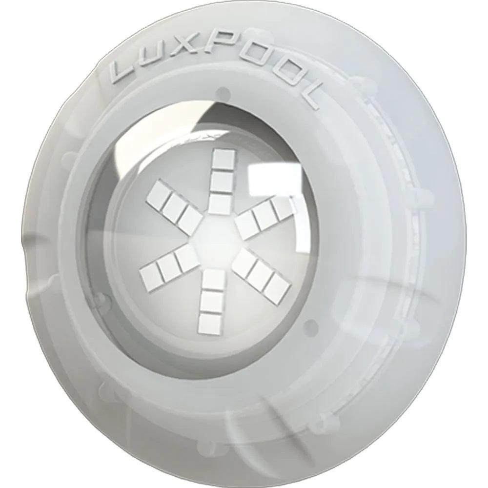Kit 8 Led Piscina Monocromático 9W + Central + Controle - Luxpool
