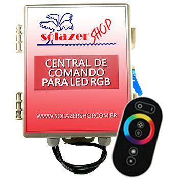 Iluminação Pisicina 8 LEDs + Adaptadores + Central de Comando