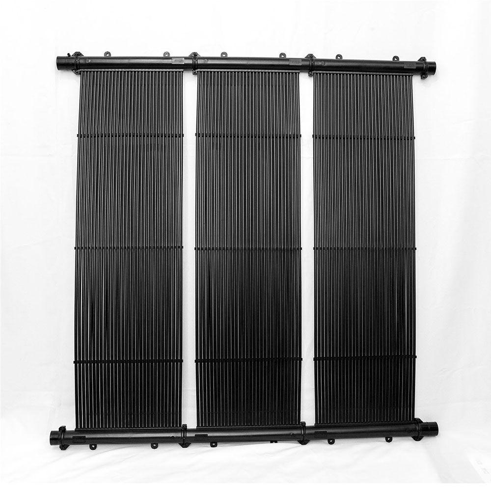 Kit Aquecedor Solar Piscina até 15m² ou 21.000L + Motor 1/2 CV
