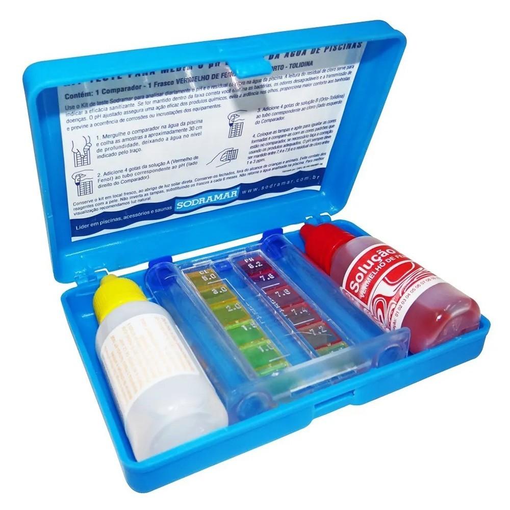 Kit Cloro Piscina Tratamento Floculante (balde 3kg) - Domclor