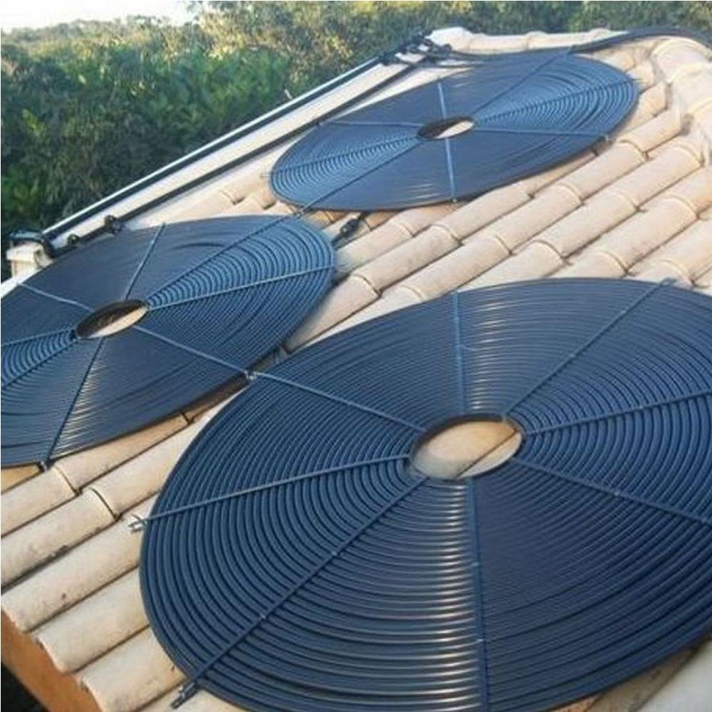 Placa Aquecedor Solar Piscina Girassol 32.000 L - 8 unidades