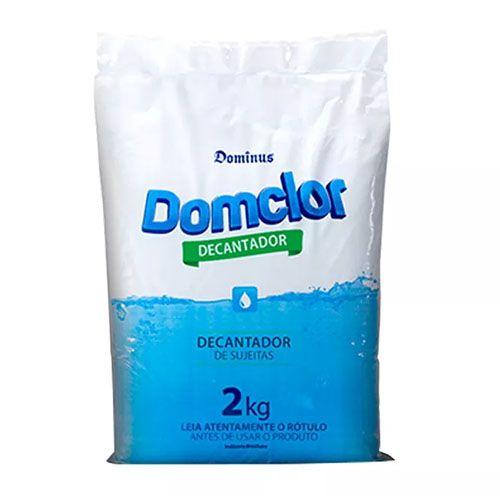 Kit Cloro Piscina Tratamento Algicida (balde 10kg) - Domclor
