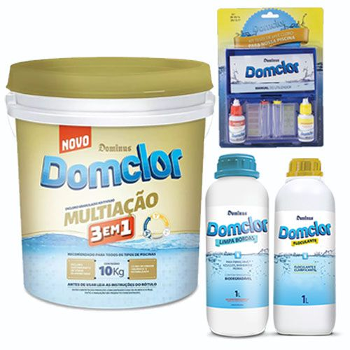 Kit limpeza Essencial Multi-ação (balde 10kg)