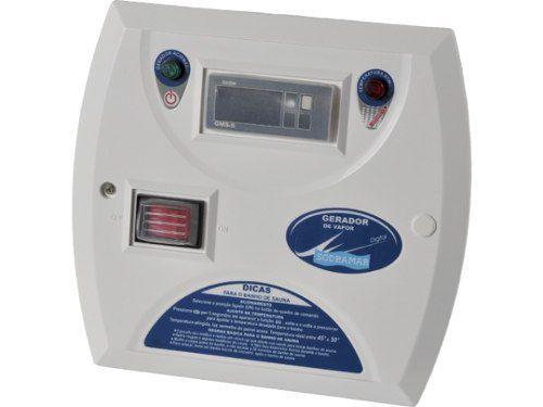 Kit Sauna Vapor 15kw 220v Trif + Kit Instalação + Quadro Digital Sodramar