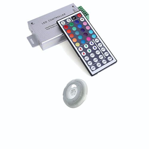 Kit 1 Refletor Led Piscina RGB 9W Luxpool + Central compacta