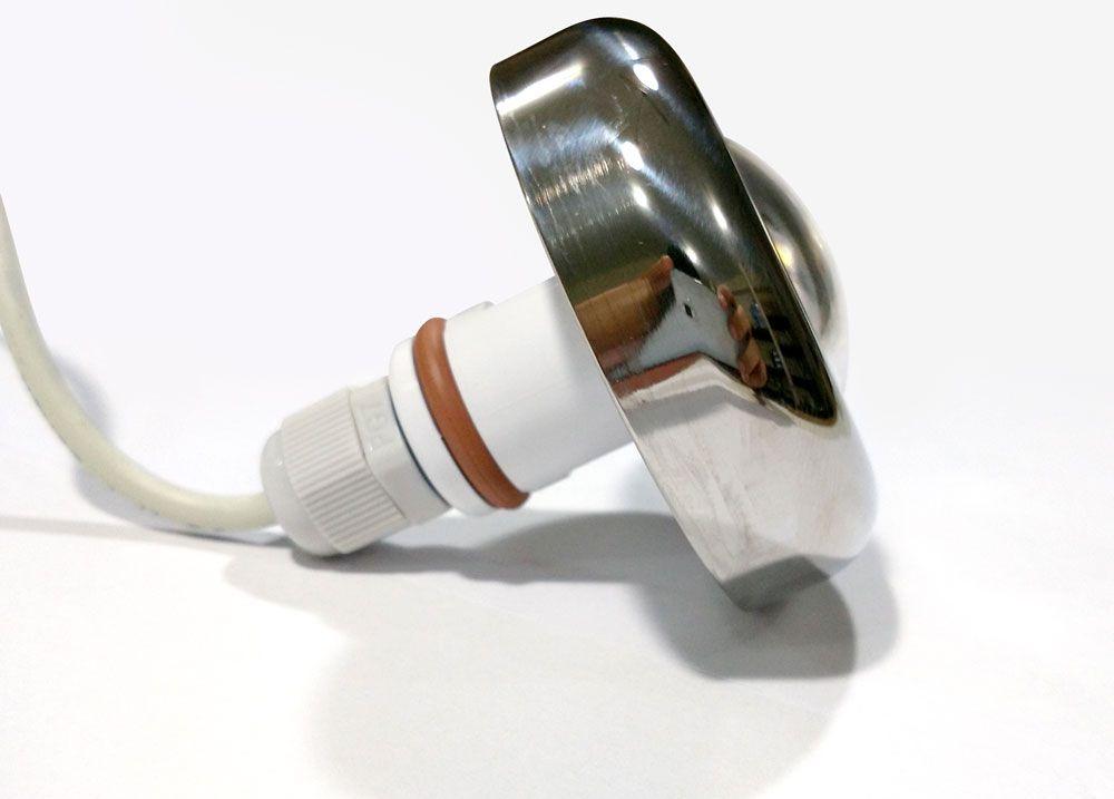 Led Piscina - Kit 8 Led Tholz 6W Inox RGB com Central e Controle Touch