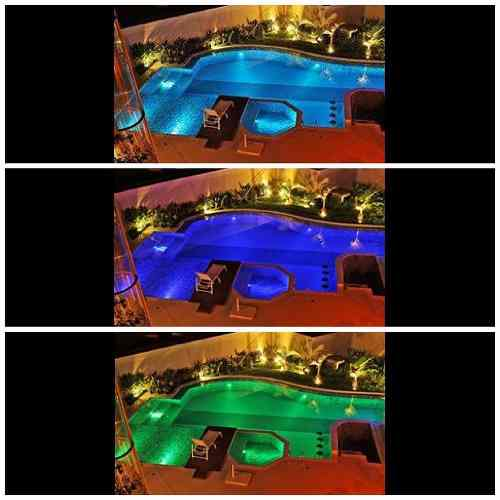 Led Piscina - Kit 9 Pratic SMD com Central e Controle Touch