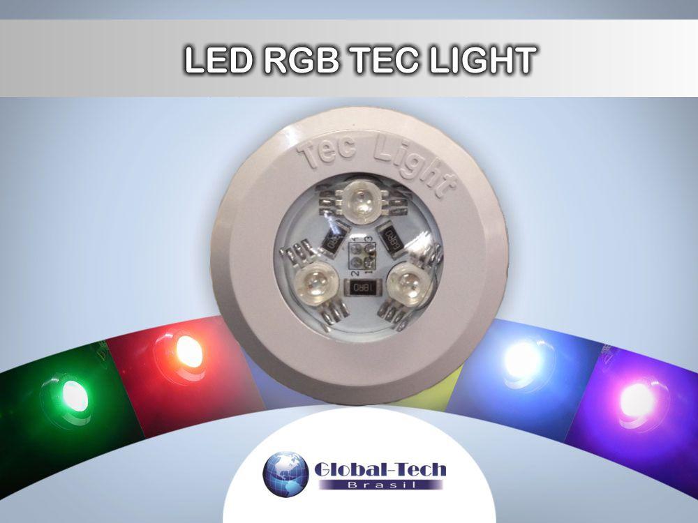 Led Colorido - Iluminação para Piscina - Kit Led RGB