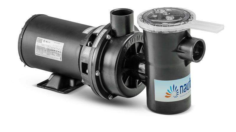 Motobomba 2CV para Piscina Nautilus Com Pré-filtro