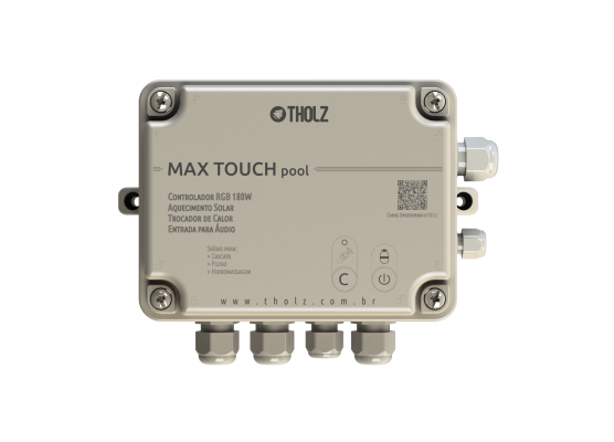 Central de Comando New Max Touch Pool - Tholz