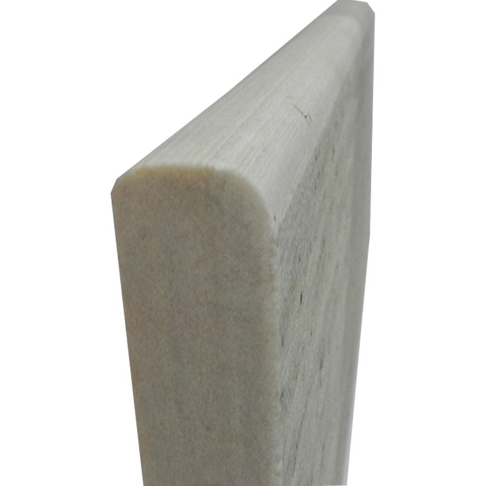 Pedra de Borda Piscina São Tomé Branca Boleada Calibrada (Unidade)