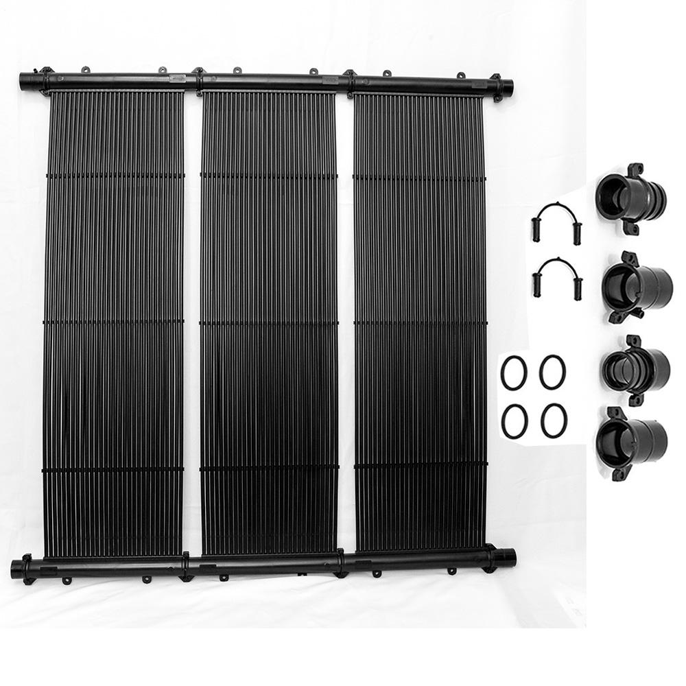 Placa Coletor Aquecedor Solar Piscina 6m² ou 8.000 L