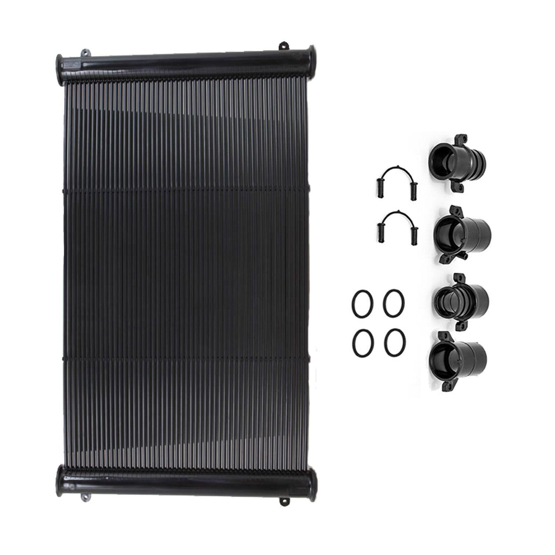 Placa Coletor Aquecedor Solar Piscina até 18 m² ou 25.000 L