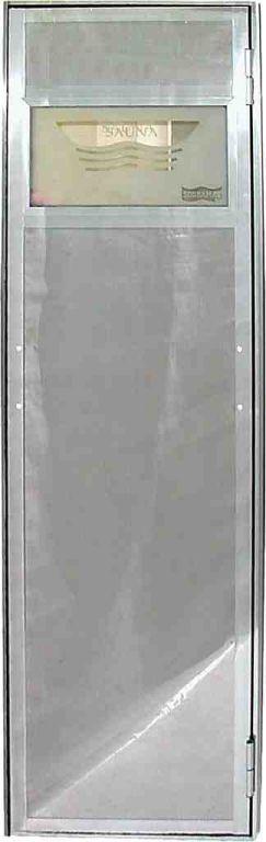 Porta para Sauna Vapor em Aço Inox - Sodramar