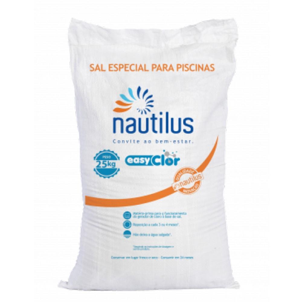 Sal especial para tratamento de piscinas EasyClor Nautilus
