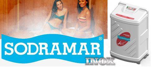 Sauna A Vapor Compact Line Inox 6kw Sodramar - Para até 6m³