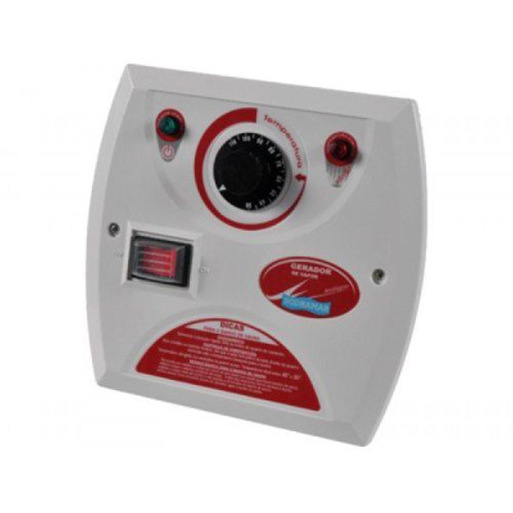Sauna Vapor 18kw 220 Trif + Kit Instalação + Quadro Analógico Sodramar - 30m³
