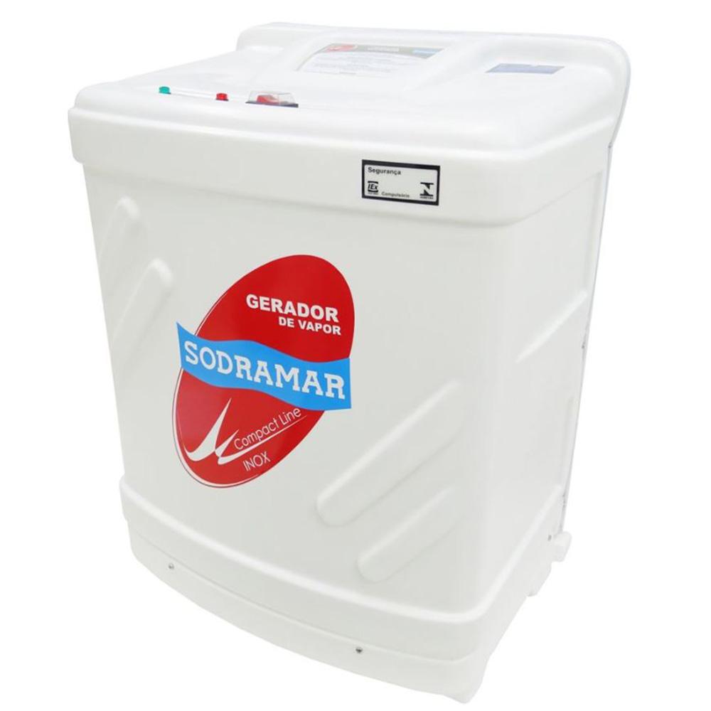 Sauna Vapor 24kw 220 Trif + Kit Instalação + Quadro Analógico Sodramar - 40m³