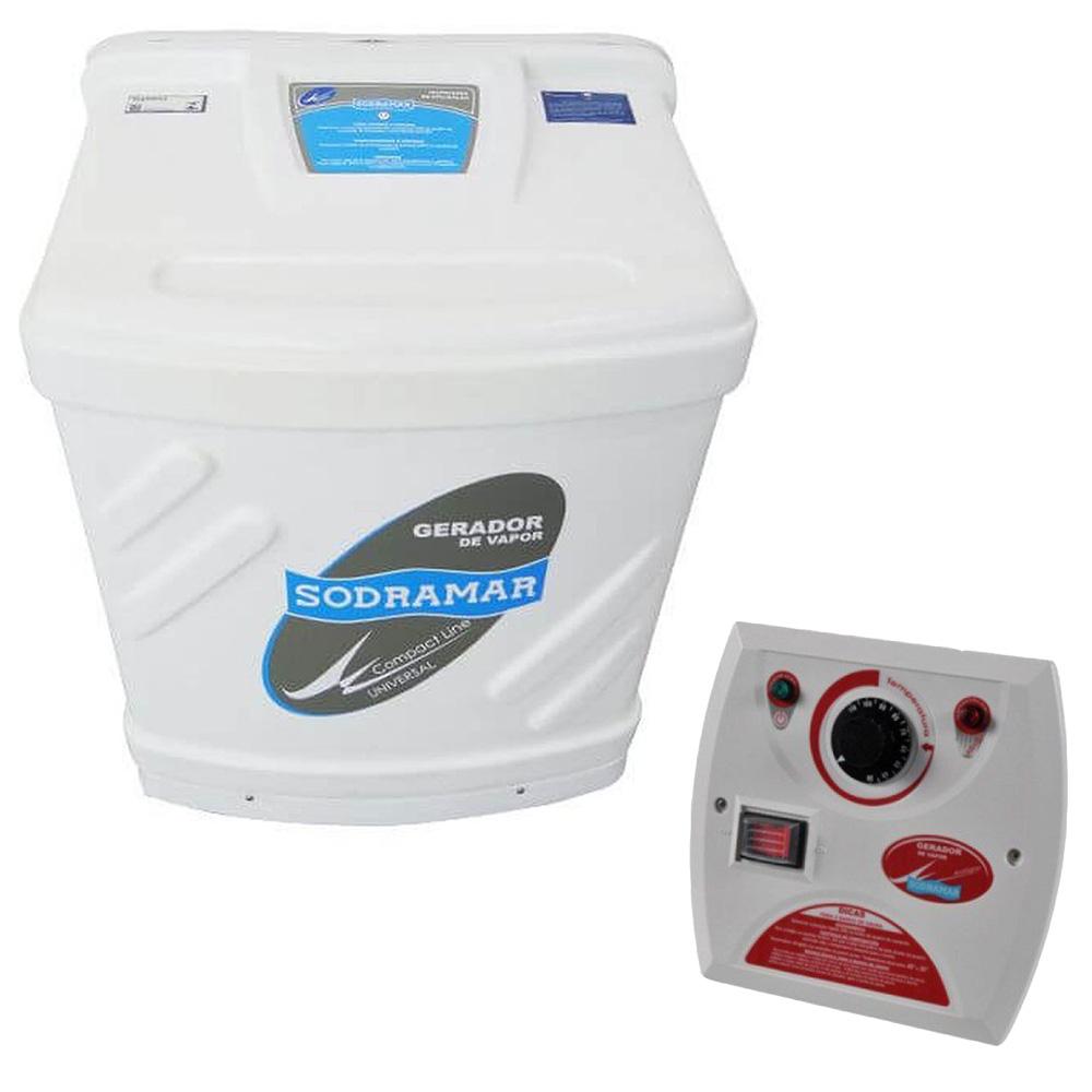 Sauna Vapor Universal Sodramar 6Kw + Quadro Analógico - 6m³