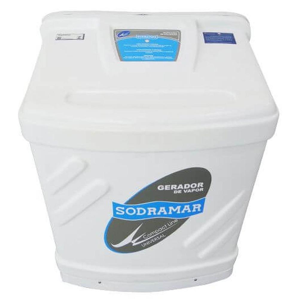 Sauna Vapor Universal Sodramar 9Kw + Quadro Analógico - 10m³