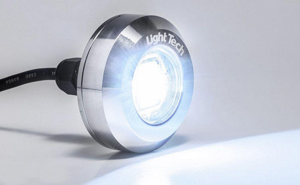 Refletor Piscina Tiny Led Inox Mono 10W - Light Tech