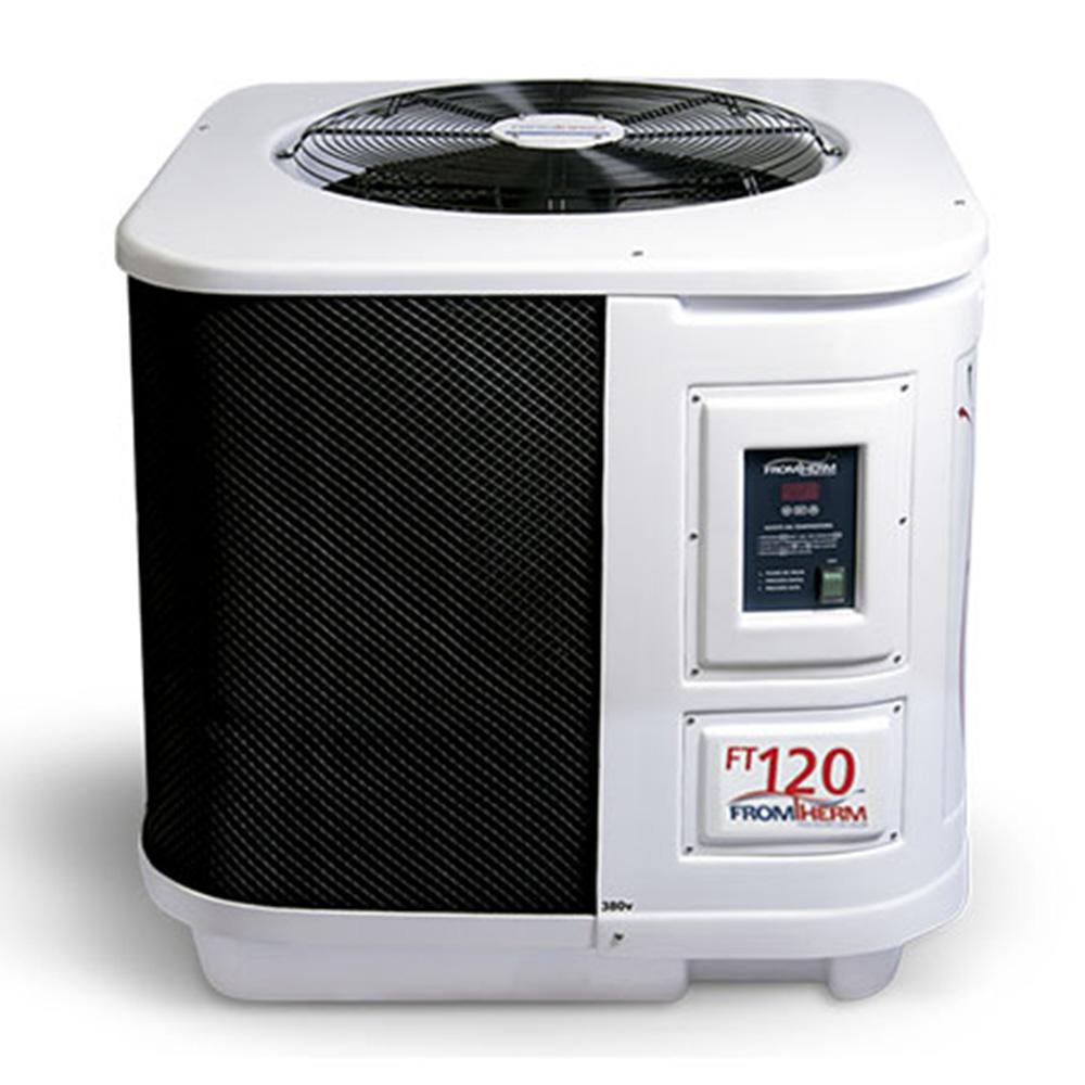 Trocador de Calor Aquecedor Piscina FromTherm FT120