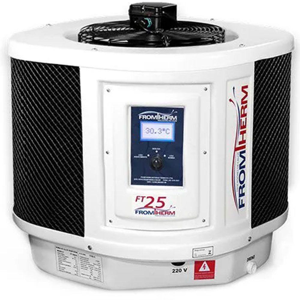 Trocador de Calor Aquecedor Piscina FromTherm FT25 (Degelo à Gas)