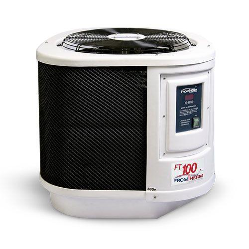 Trocador de Calor Aquecedor Piscina FromTherm FT100