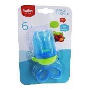 Chupeta Alimentadora Cod. 6156 - Porta Frutinha Buba Azul .