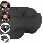 Apoio Suporte De Cabeça Para Assento De Carro Proteção e segurança Criança cor Cinza Buba Baby