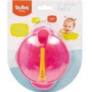 Pratinho Para Bebe Crianca Bowl Com Fixador Sem Bpa Prato Buba Baby Pote com ventosa para bebe.