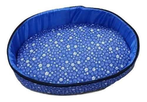 Cama Caminha Pra Cachorros Caes Gatos Pet Shop Cama Caminha Europa Cachorros Caes Gatos Com Ziper Azul G.